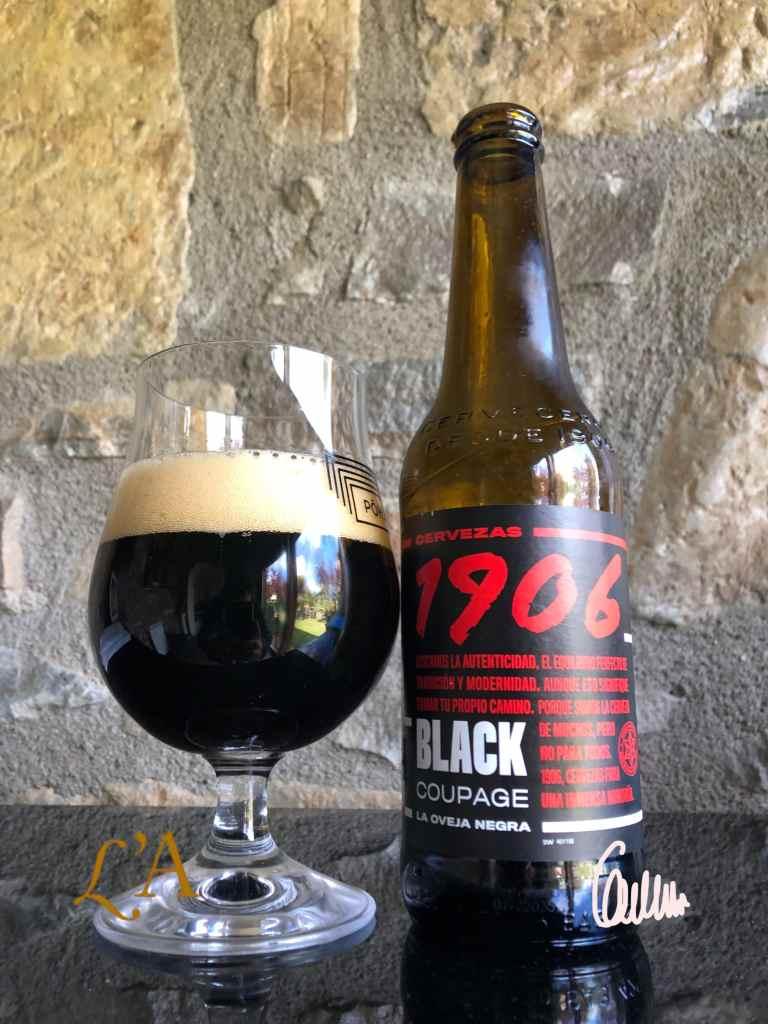 1906 Black Coupage. La oveja negra de Estrella Galicia