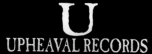 "The first Upheaval Records logo, as appears inside the New Day Rising 7"" booklet and the Ignorance Never Settles CD"