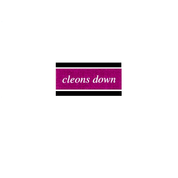 "ECP-001 Cleons Down 7"" (June 1996). First sleeve"