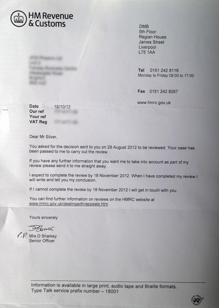 HM Revenue & Customs - civil penalty appeal review