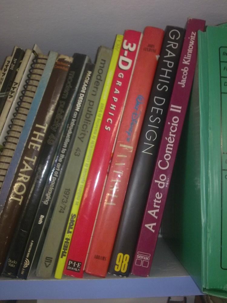 Pequena pausa para uma curiosidade - Lombada de livros (3/4)