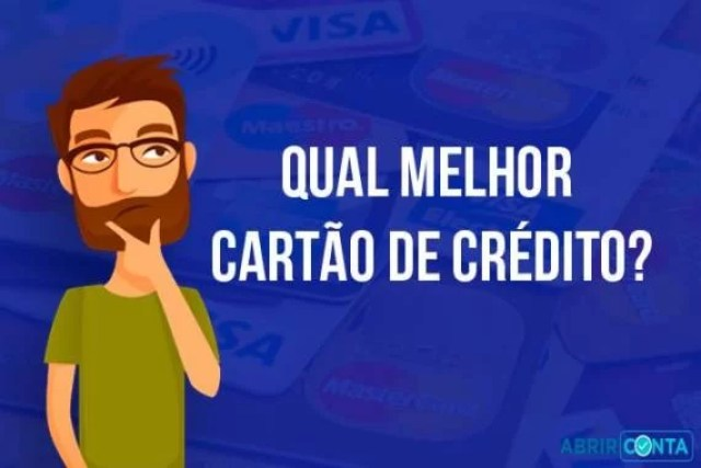 Qual melhor cartão de crédito?