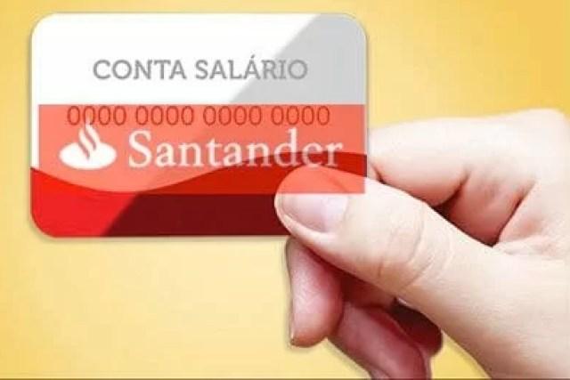 Como abrir uma Conta-Salário no Santander?