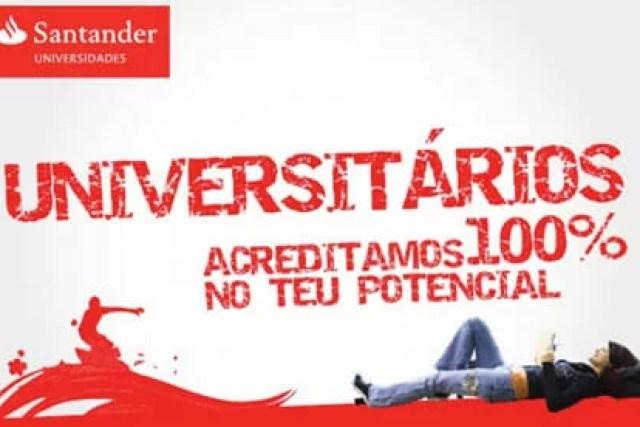 Como abrir uma conta universitária no Santander?