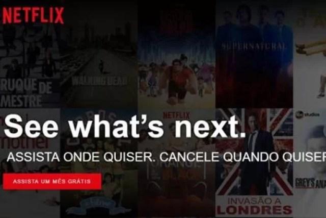 Como assinar Netflix – Planos e Valores