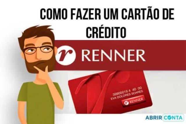 Como fazer um cartão de crédito Renner