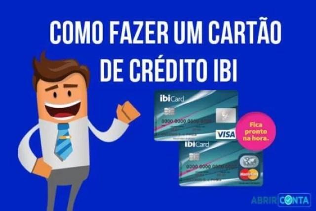 Como fazer um cartão de crédito Ibi