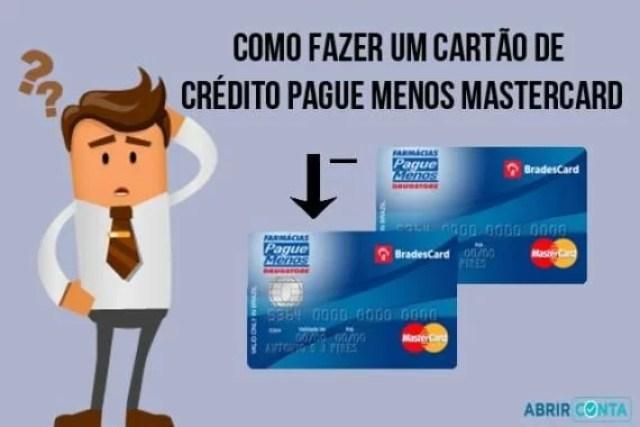 Como fazer um cartão de crédito Pague Menos Mastercard