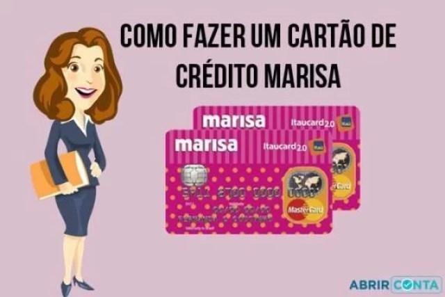 Como fazer um cartão de crédito Marisa Mastercard