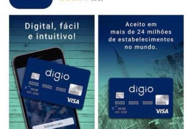 Como solicitar um cartão de crédito Digio