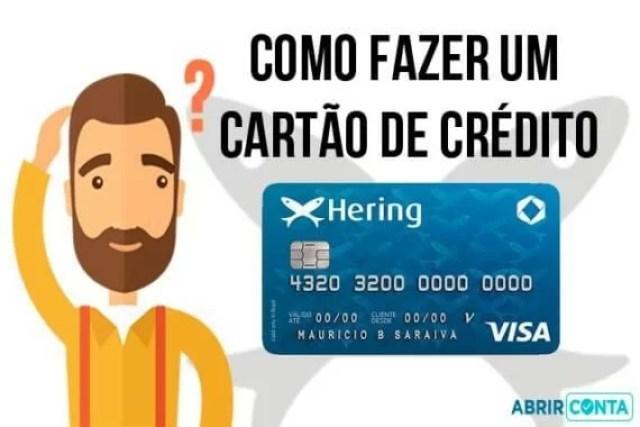 Como fazer um cartão de crédito Hering