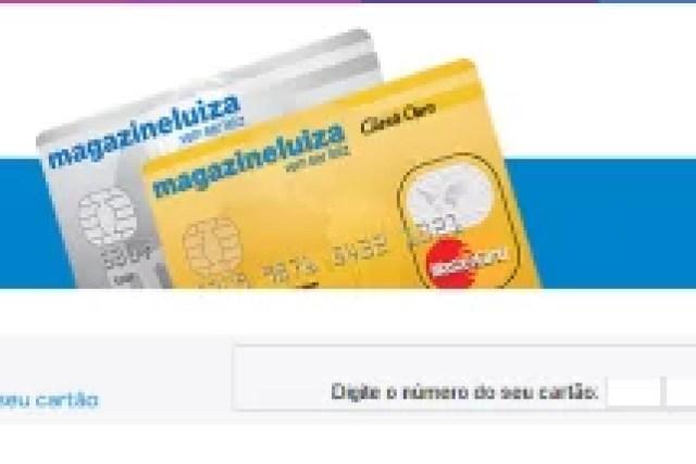 Como fazer um Cartão de Crédito Magazine Luiza