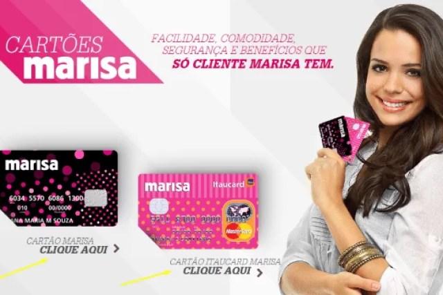 Como fazer um cartão Marisa