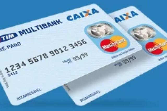 Como fazer um cartão de crédito pré pago Tim Multibank