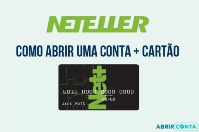 Como abrir uma conta Neteller + cartão