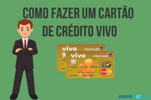 Como fazer um cartão de crédito VIVO