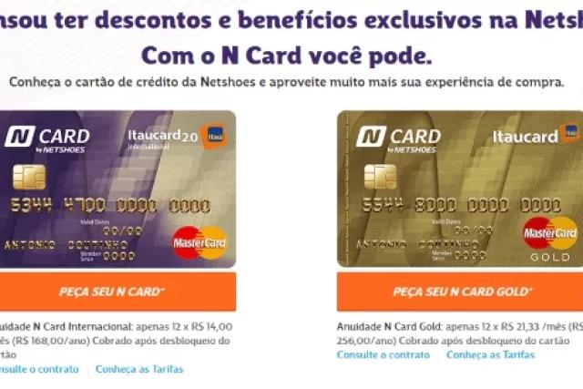 Como fazer um cartão de crédito N CARD