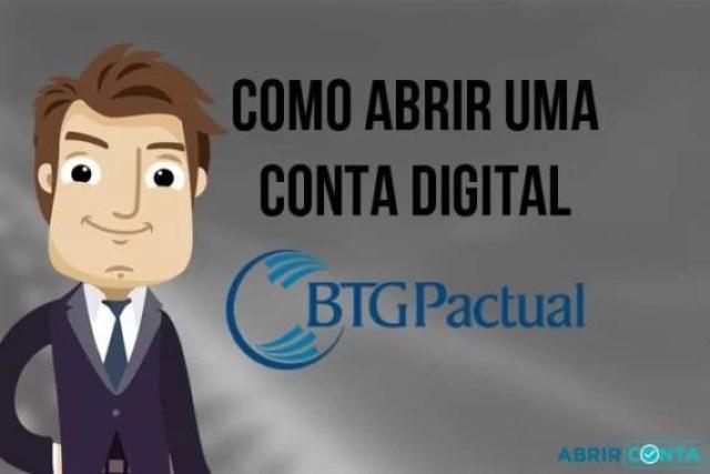 Como abrir uma conta digital no Banco BTG Pactual