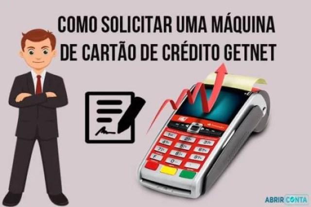 Como solicitar uma máquina de cartão de crédito Getnet