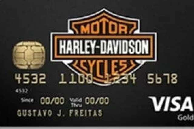 Como fazer um cartão de crédito  Harley-Davidson