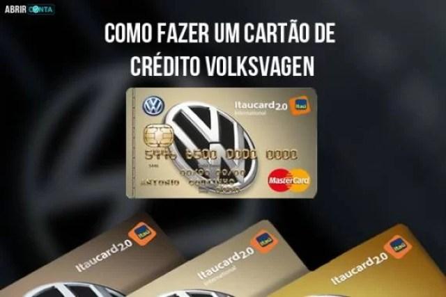 Como fazer um cartão de crédito Volksvagen