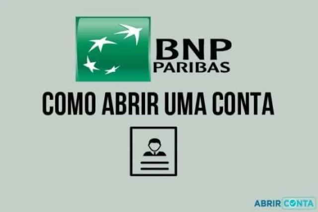 Como abrir uma conta no BNP Paribas