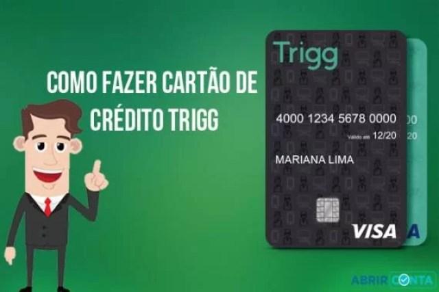 Como fazer cartão de crédito Trigg