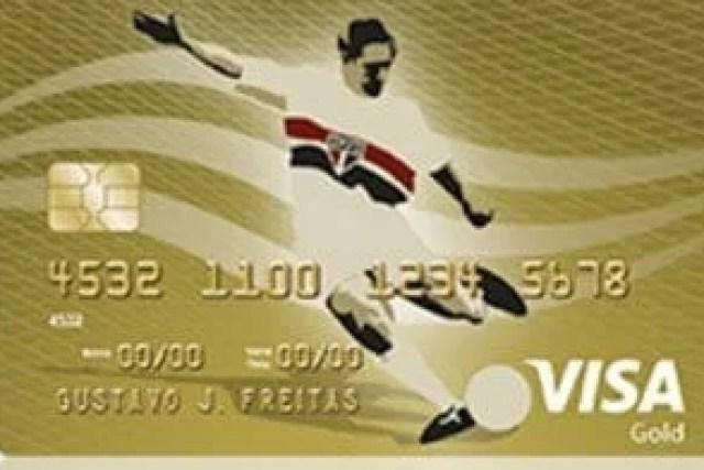Como fazer um cartão de crédito São Paulo Futebol Clube