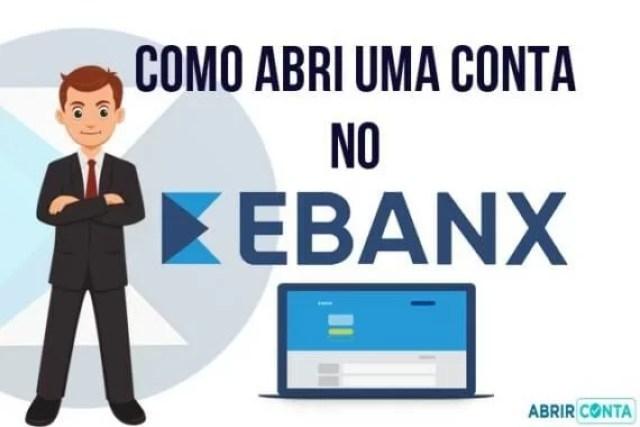 Como abrir uma conta EBANX