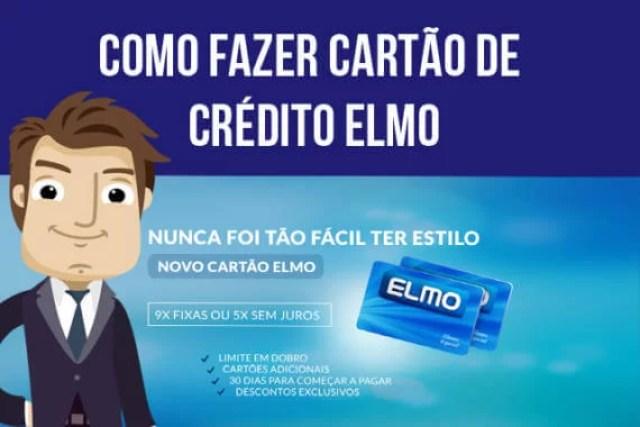 Como fazer cartão de crédito Elmo