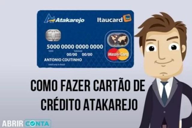 Como fazer cartão de crédito Atakarejo