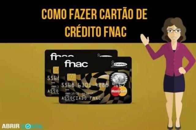 Como fazer cartão de crédito Fnac