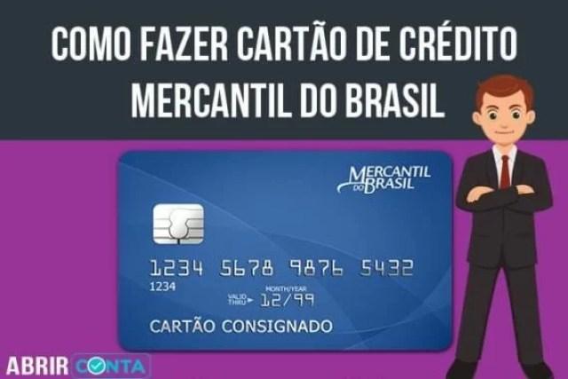 Como fazer cartão de crédito Mercantil do Brasil