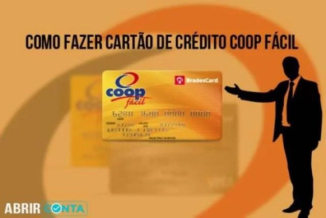 Como fazer cartão de crédito Coop Fácil