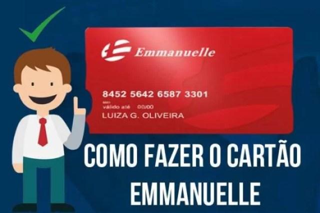 Como fazer o cartão Emmanuelle