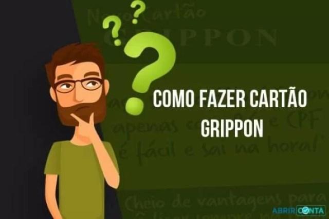 Como fazer cartão Grippon