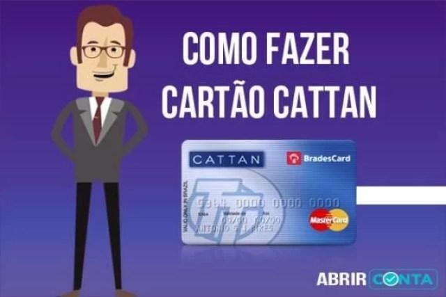 Como fazer cartão Cattan