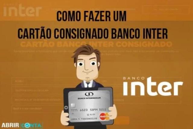 Como fazer um cartão consignado Banco Inter
