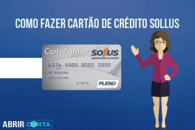 Como Fazer Cartão de Crédito Sollus
