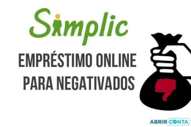 Simplic – Empréstimo online para negativados