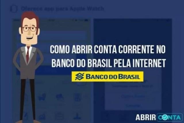 Como abrir conta corrente no Banco do Brasil pela internet