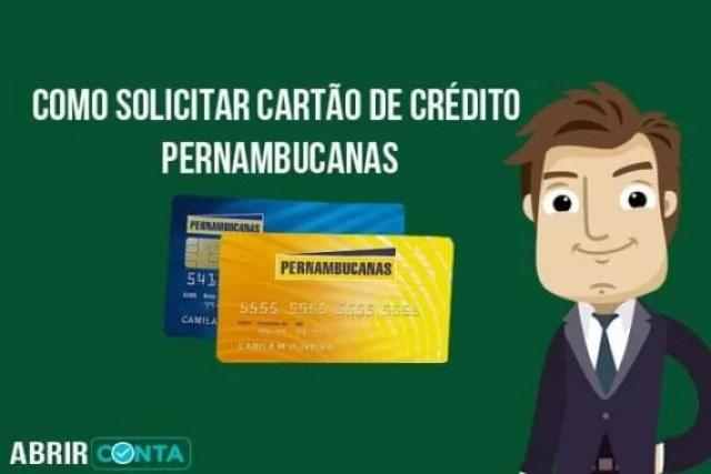 Como solicitar cartão de crédito Pernambucanas