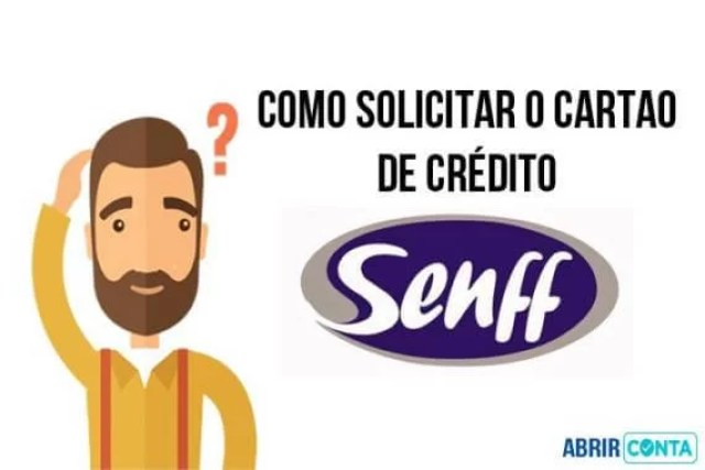 Como fazer o cartão de crédito Senff