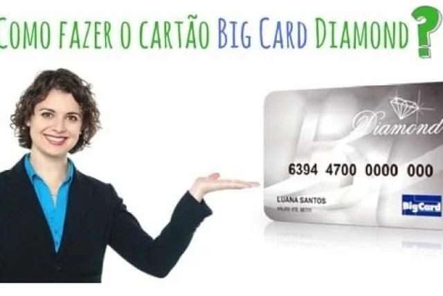 Como fazer o cartão Big Card Diamond