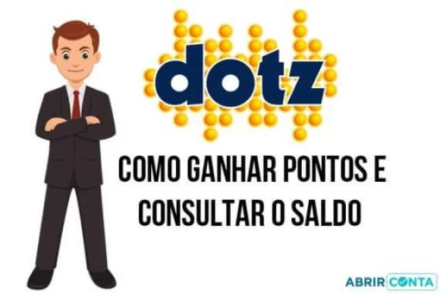 Como ganhar pontos e consultar o saldo do Dotz