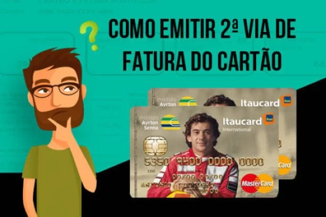 Como solicitar 2ª via da fatura do cartão IAS
