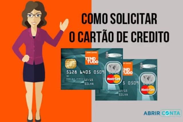 Como fazer o cartão de crédito Tend Tudo