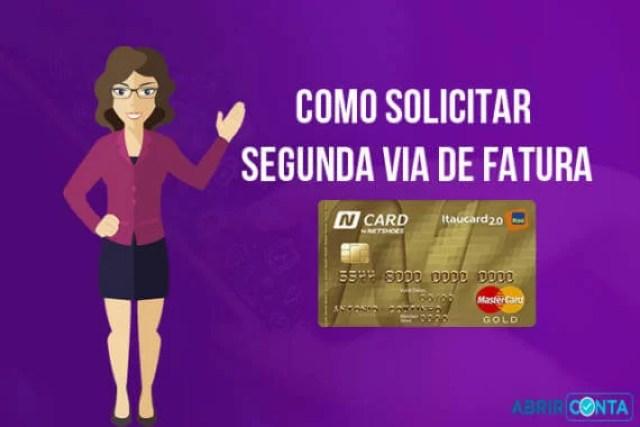 N Card – Como solicitar segunda via de fatura