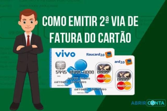 Como solicitar segunda via de fatura do cartão Vivo