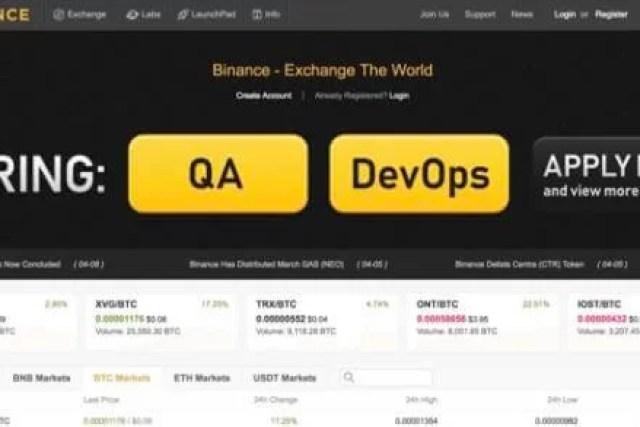 Como Abrir Conta na Corretora Binance Exchange